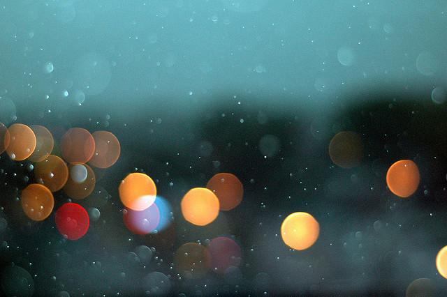 Rain in Swansea
