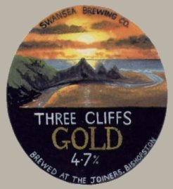 Three cliffs gold