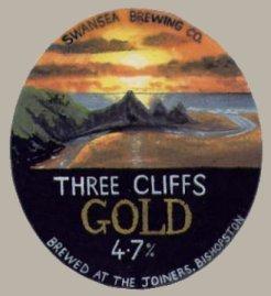 Three cliffs gold